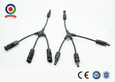 CE IP67  Y Type One to Three Branch Solar Photovoltaic Connectors