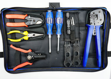 Blue Bag PV Solar Tool Kits Multi Purpose Carbon Steel Material ISO9001