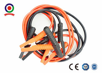 Portable Brass Jump Leads Booster Cables , Auto Booster Cables CE Approved